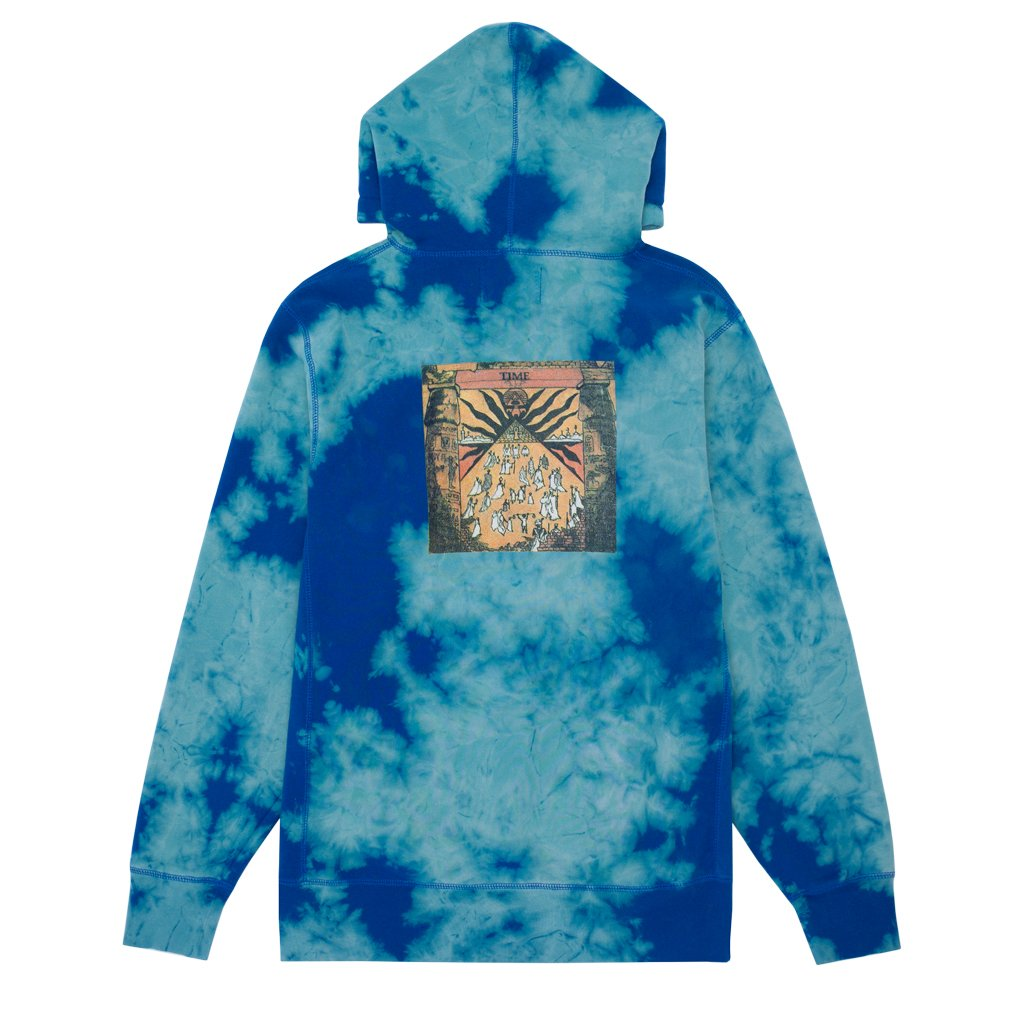 Fucking Awesome Hoodie Time Bomba Royal Dye