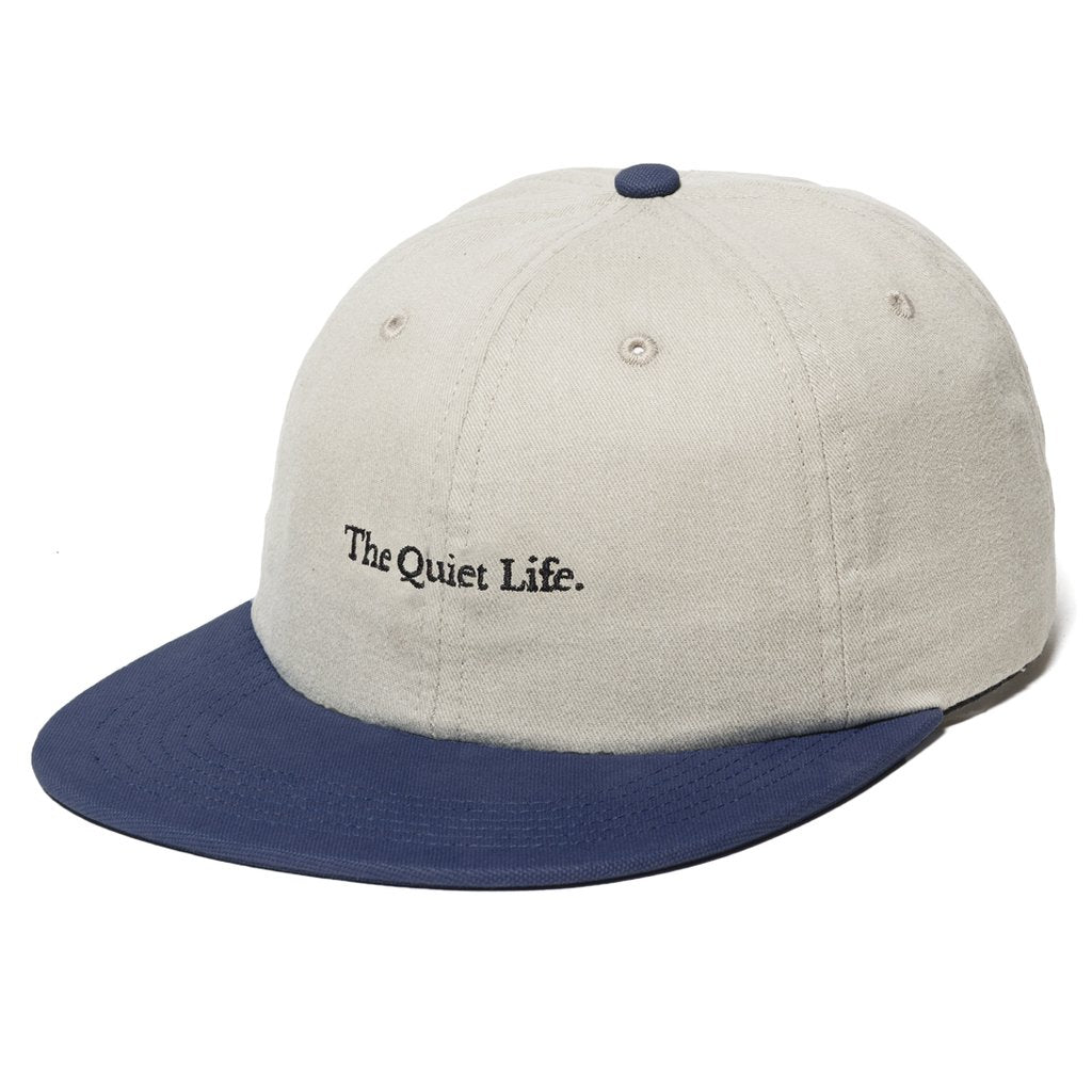 Quiet Life Serif Polo Hat Stone/Blue