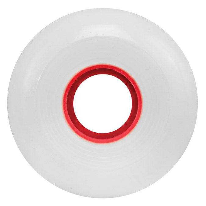Ricta Wheels Clouds 86A White/Red Core 57mm