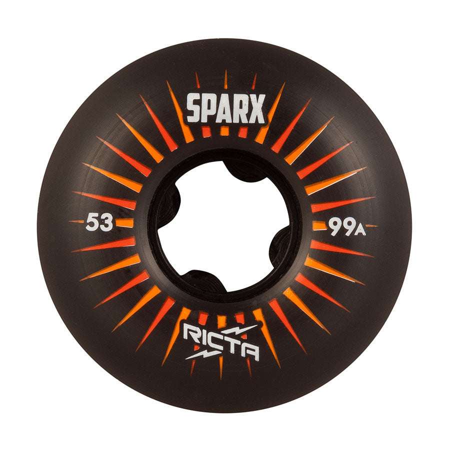 Ricta Wheels Sparx Black 99a 53mm