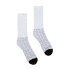 Creature Lurker Crew Socks White