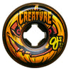 OJ Wheels Creature Pumpkinhead Bloodsuckers Orange Black Swirl 97a 54mm