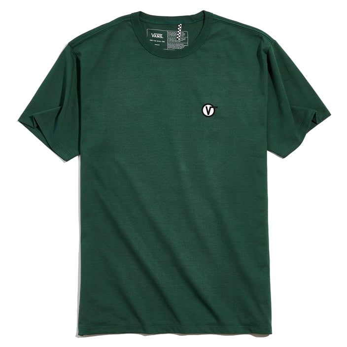 Vans Off The Wall Classic Circle V Tee Pine Needle