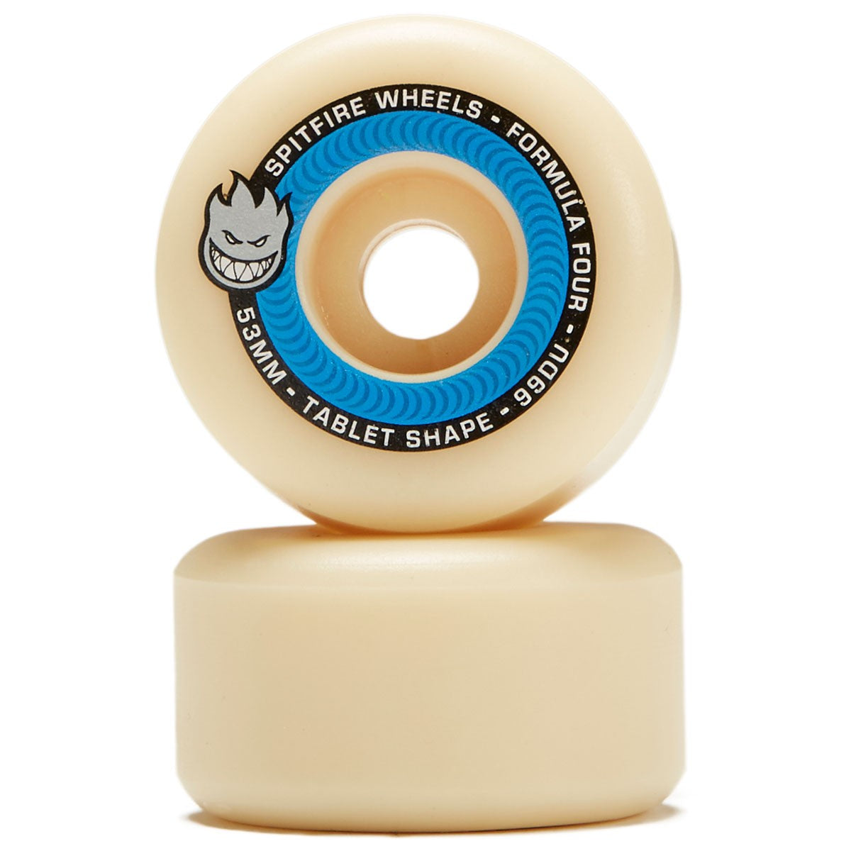 Spitfire Wheels Formula Four Tablet 53mm 99d