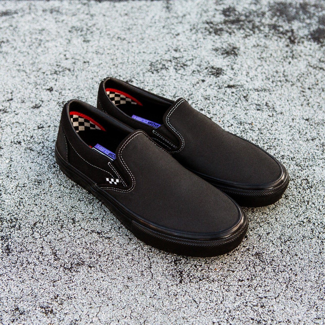 Vans Skate Slip On Black