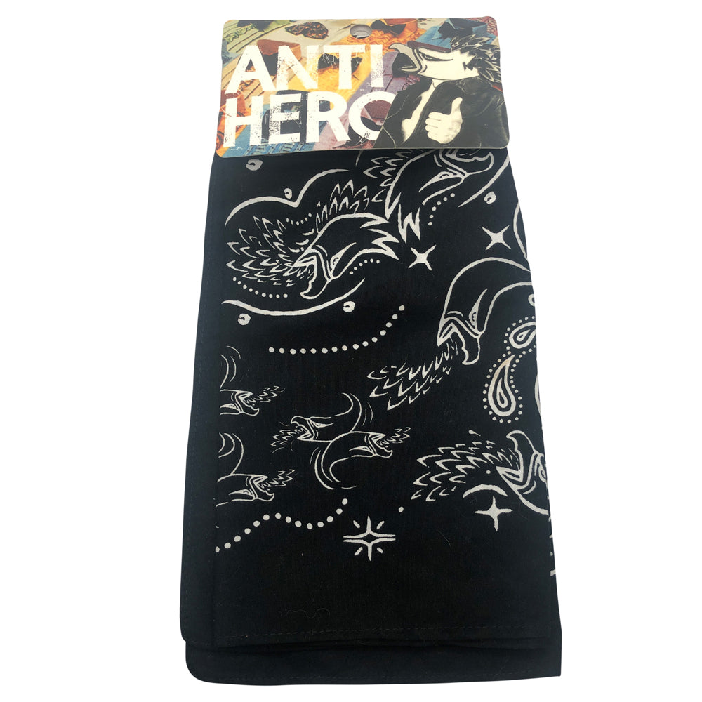 Anti Hero Eagle Bandana Black/White