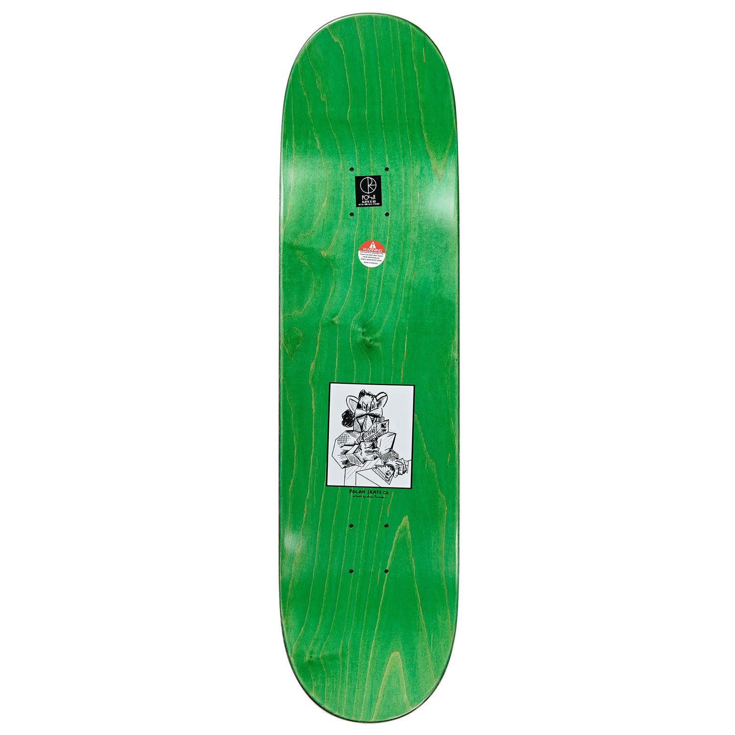 Polar Aaron Herrington Diner Deck 8.375""