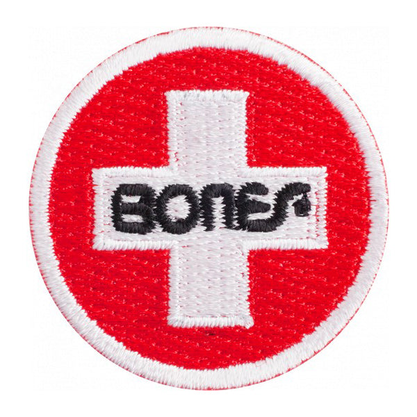 Bones Swiss Circle Patch 1.5 Inch