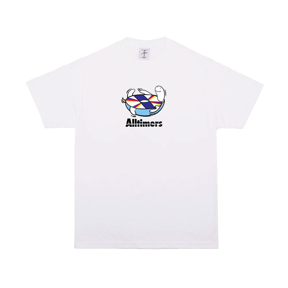 Alltimers Spin Tee White