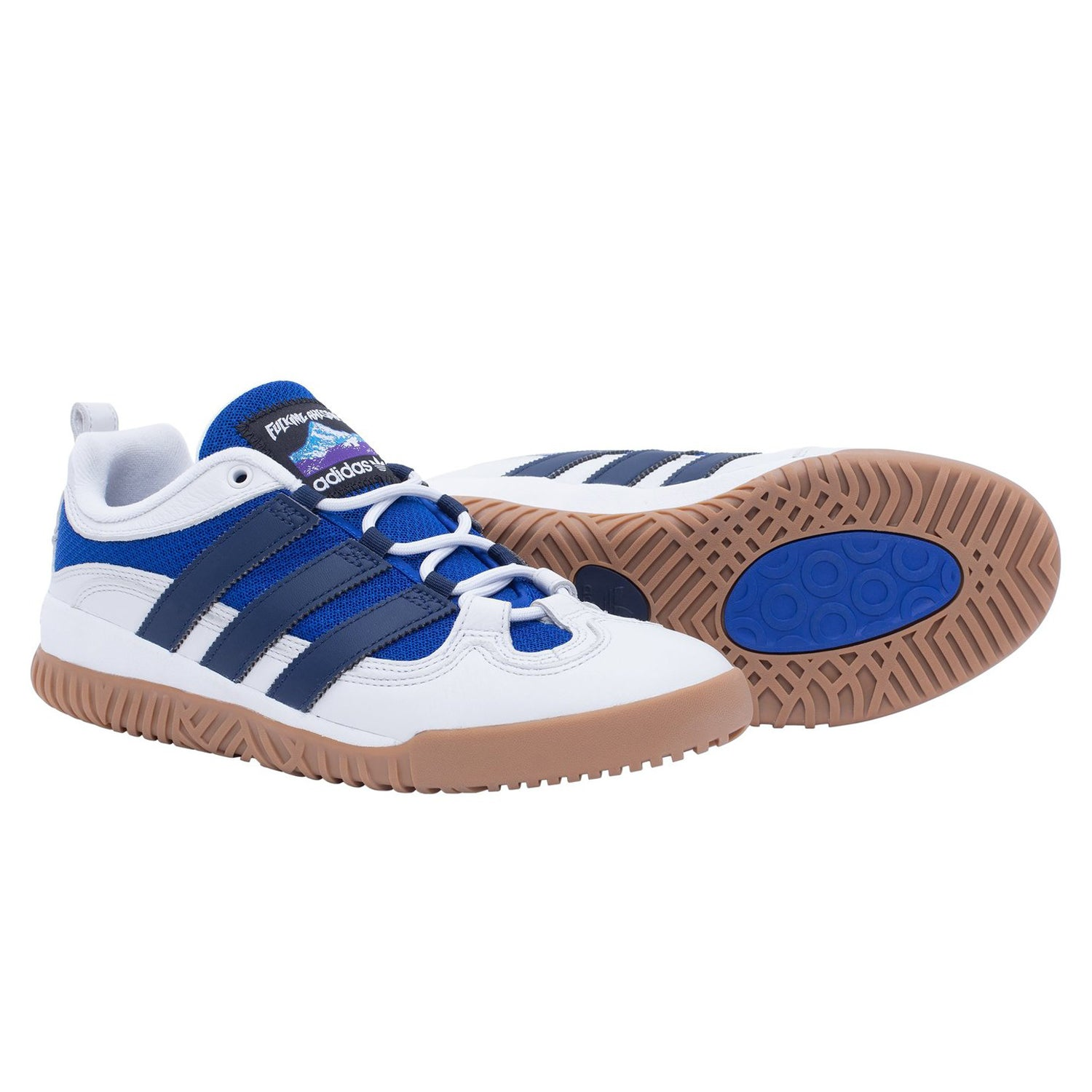 Adidas FA Experiment 1 Shoes Crystal White/Collegiate Navy