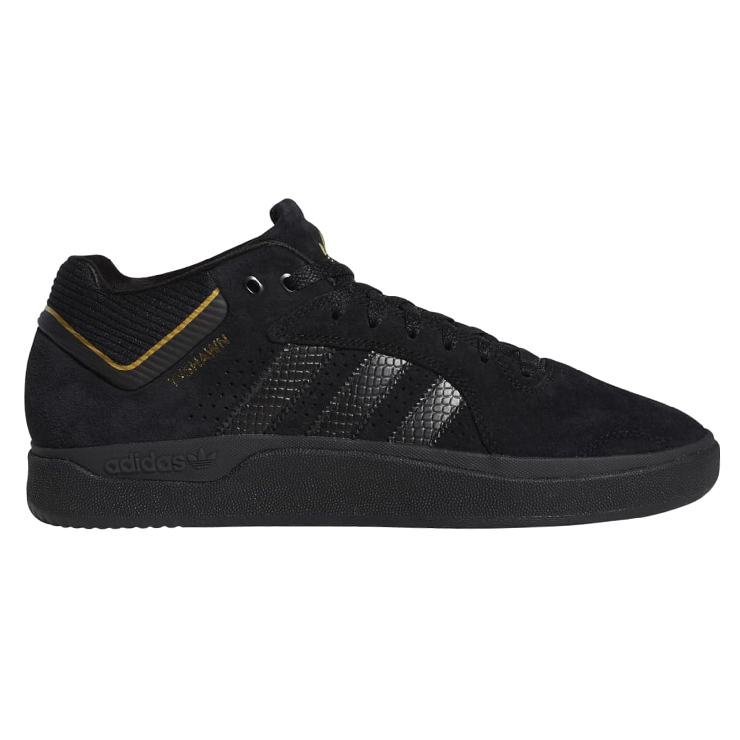 Adidas Tyshawn Pro Black/Black/Gold