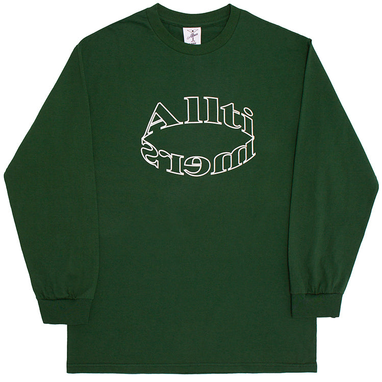 Alltimers Bendy Long Sleeve Tee Forest Green