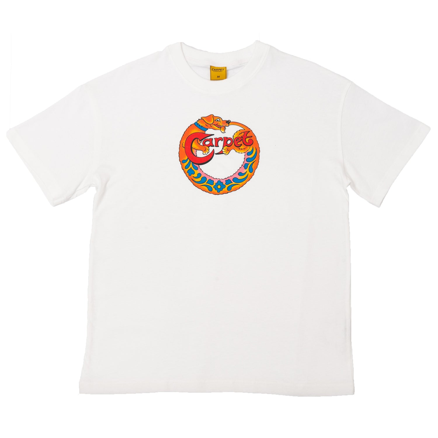 Carpet Company Dog Tee White