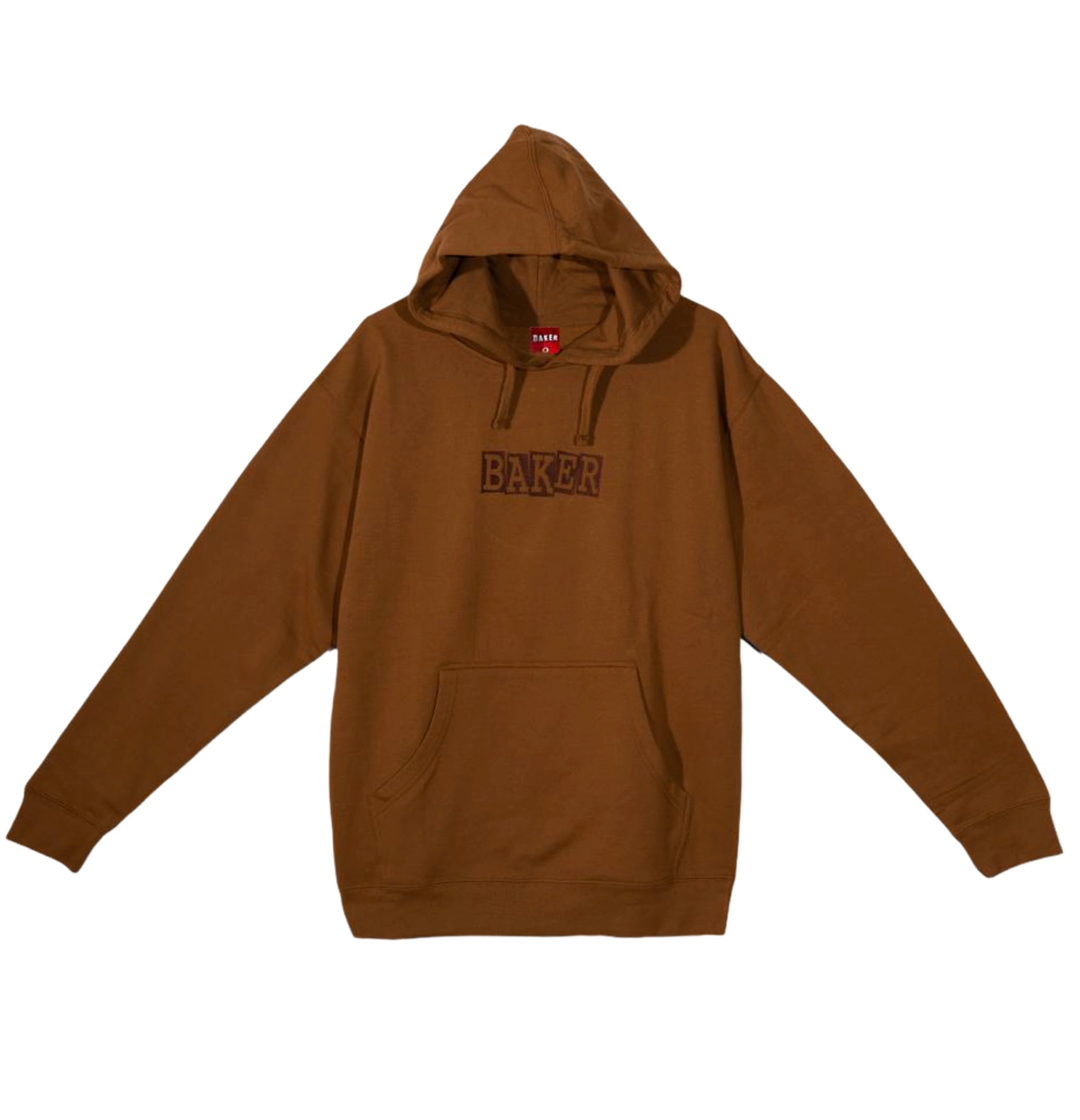 Baker Small Ribbon Hoodie Brown