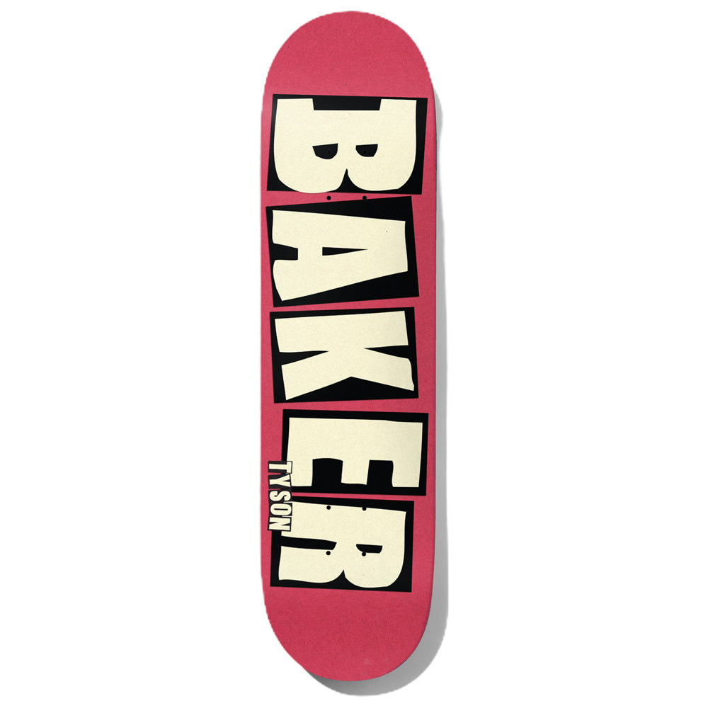 Baker Tyson Brand Name Blush Deck 8.475