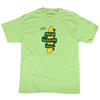 Orchard Bomb Mission Hill 15th Anniversary Tee Lime