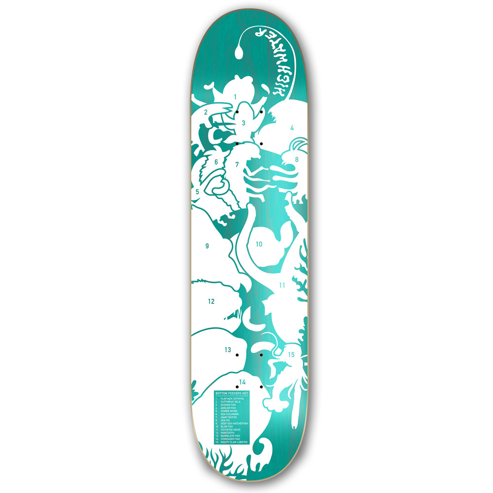 Highwater Bottom Feeders Deck 8.1""