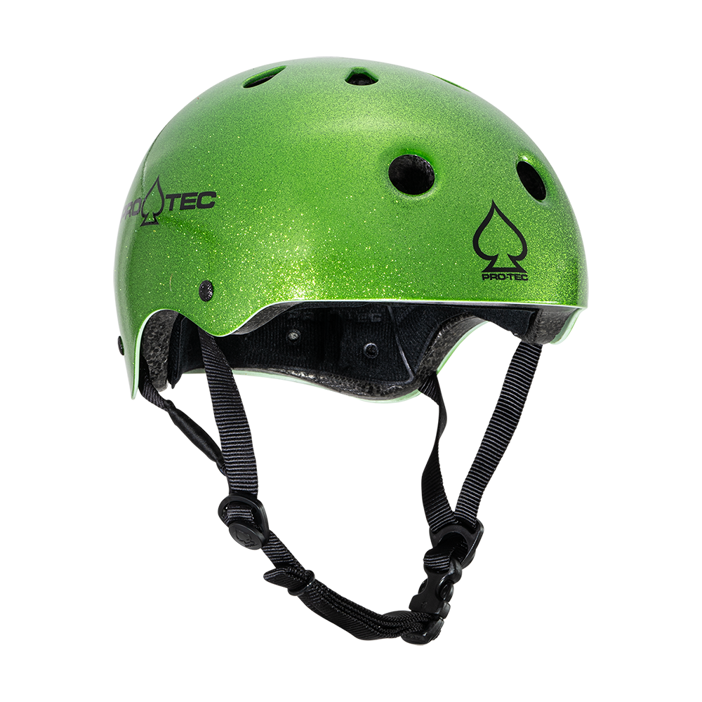 Pro-Tec Classic Certified Helmet Candy Green Flake