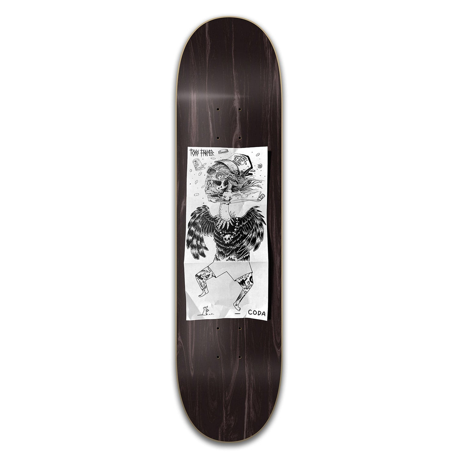 Coda Exquisite Corpse Farmer Deck 8.6""