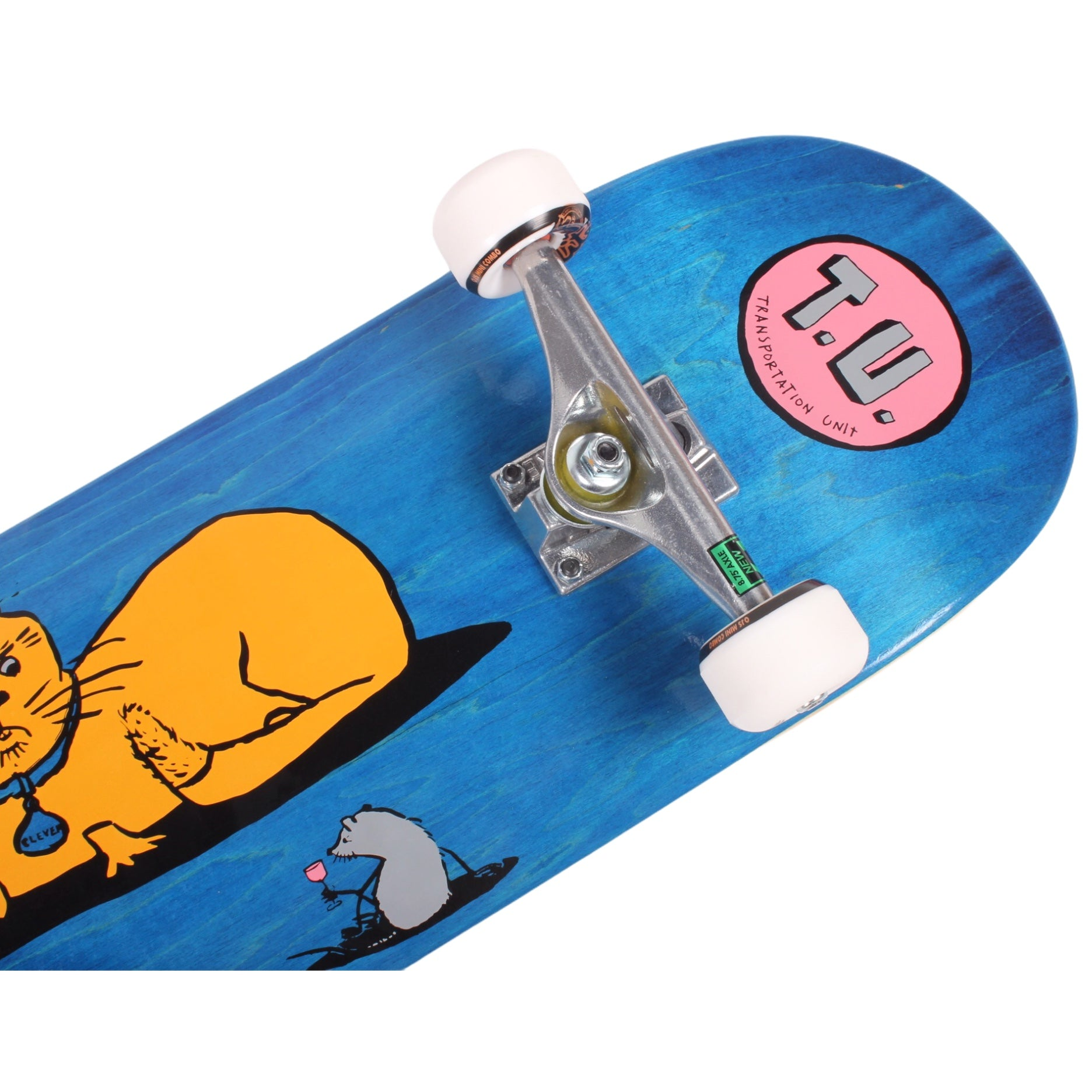 Transportation Unit Complete Skateboard Cat And Mouse 8.8