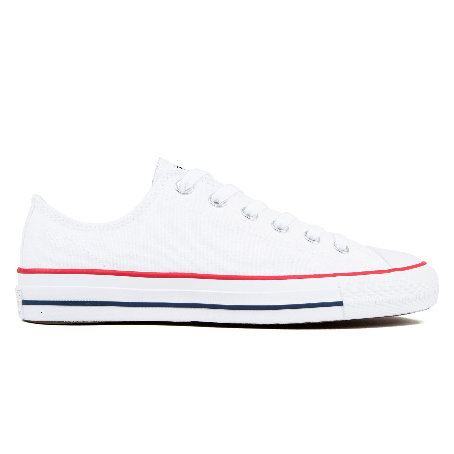 CONS CTAS Pro Ox White/Red/Blue Canvas