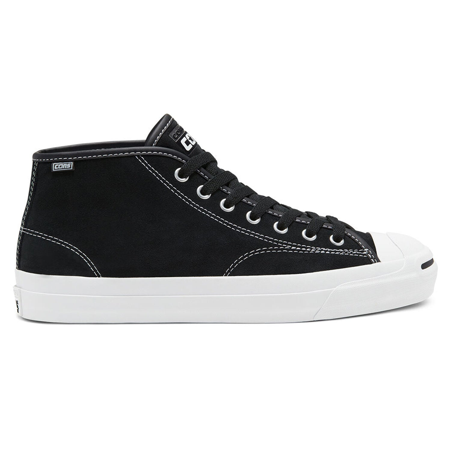 Converse CONS Jack Purcell JP Pro Mid Black/White