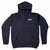 Poets Cuckoo Hooded Sweatshirt Navy