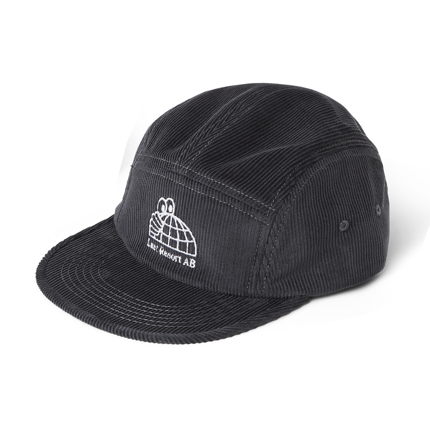 Last Resort AB Half Globe Cord 5-Panel Grey