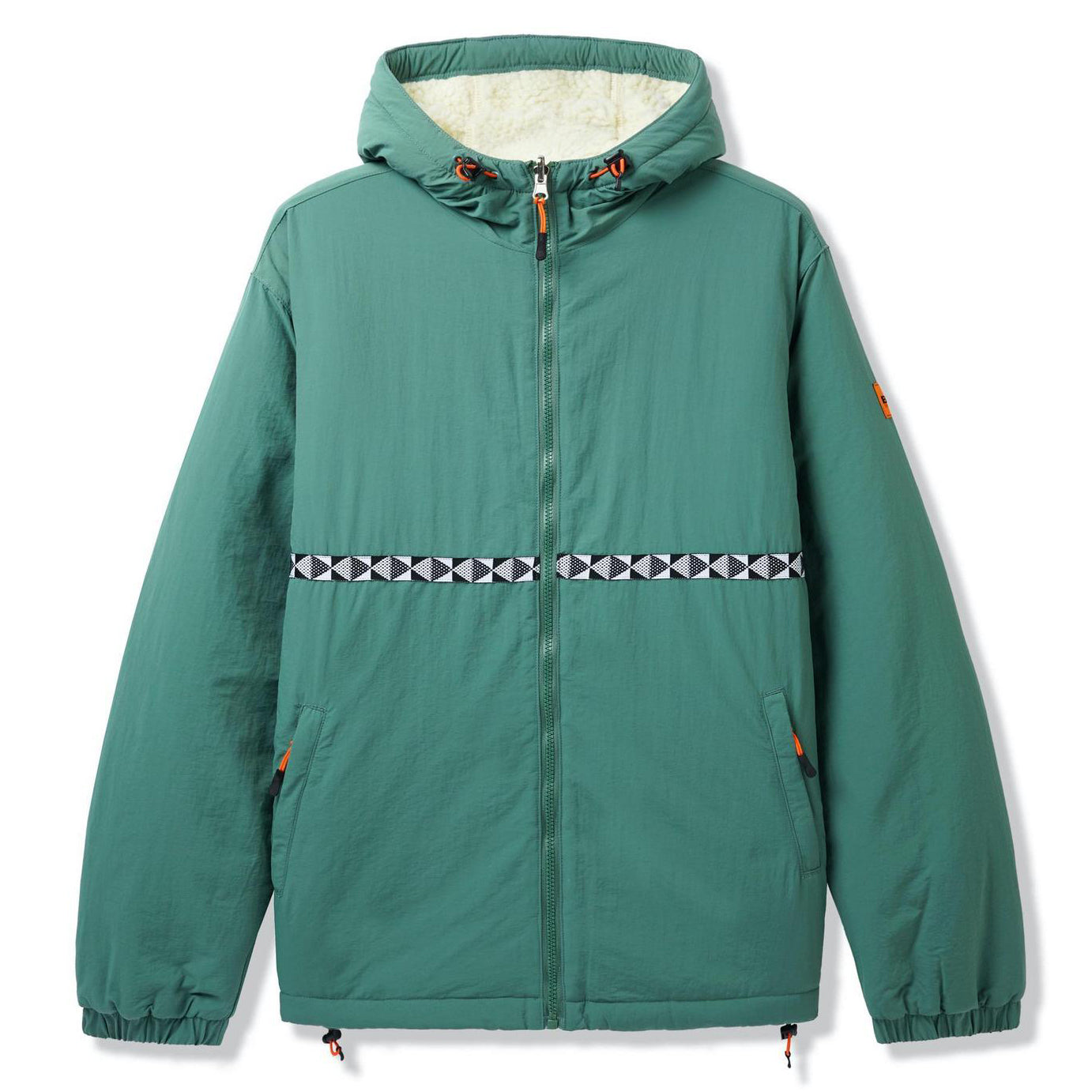 Butter Goods Base Camp Reversible Jacket Sage/Natural