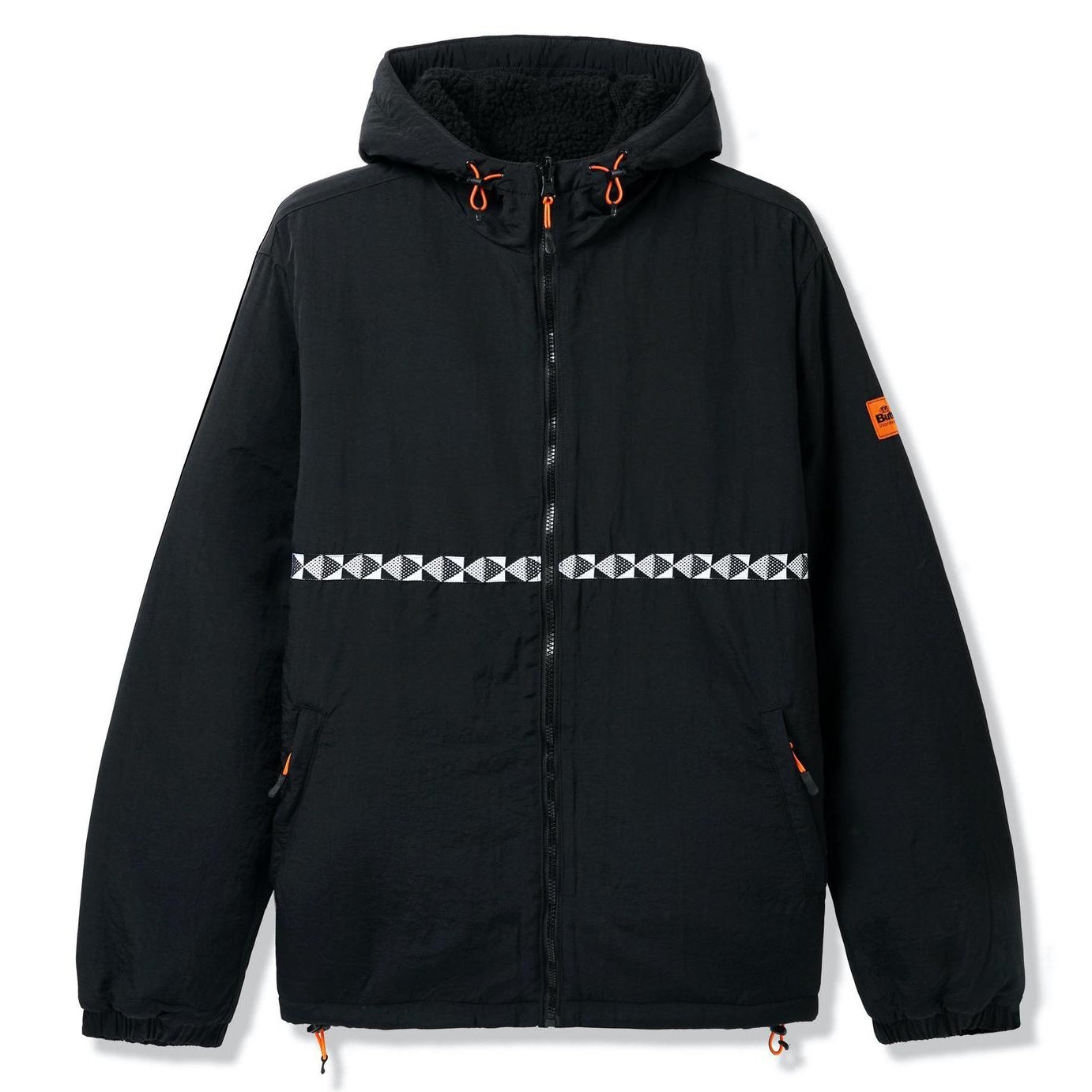 Butter Goods Base Camp Reversible Jacket Black/Black