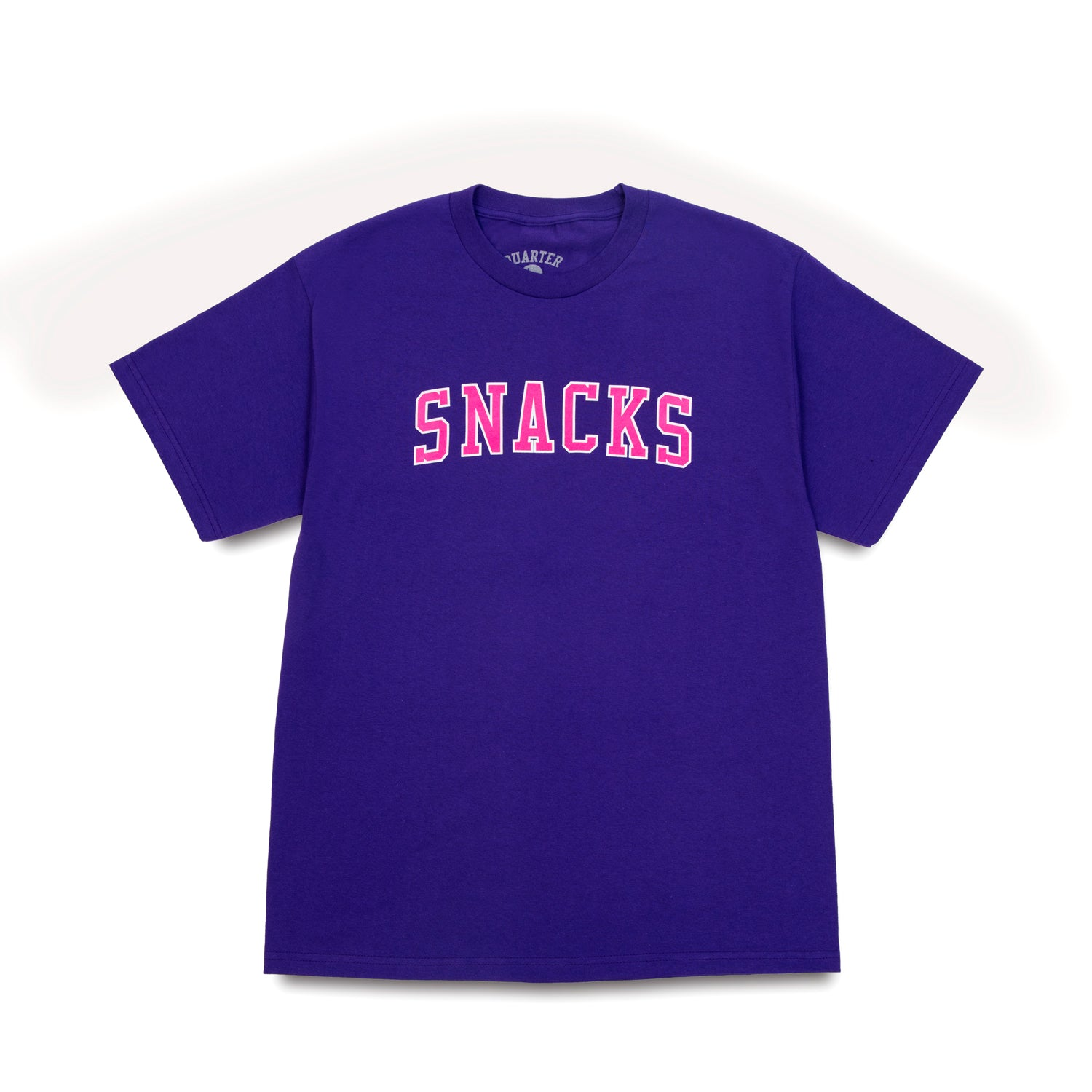 Quarter Snacks Varsity Tee Purple