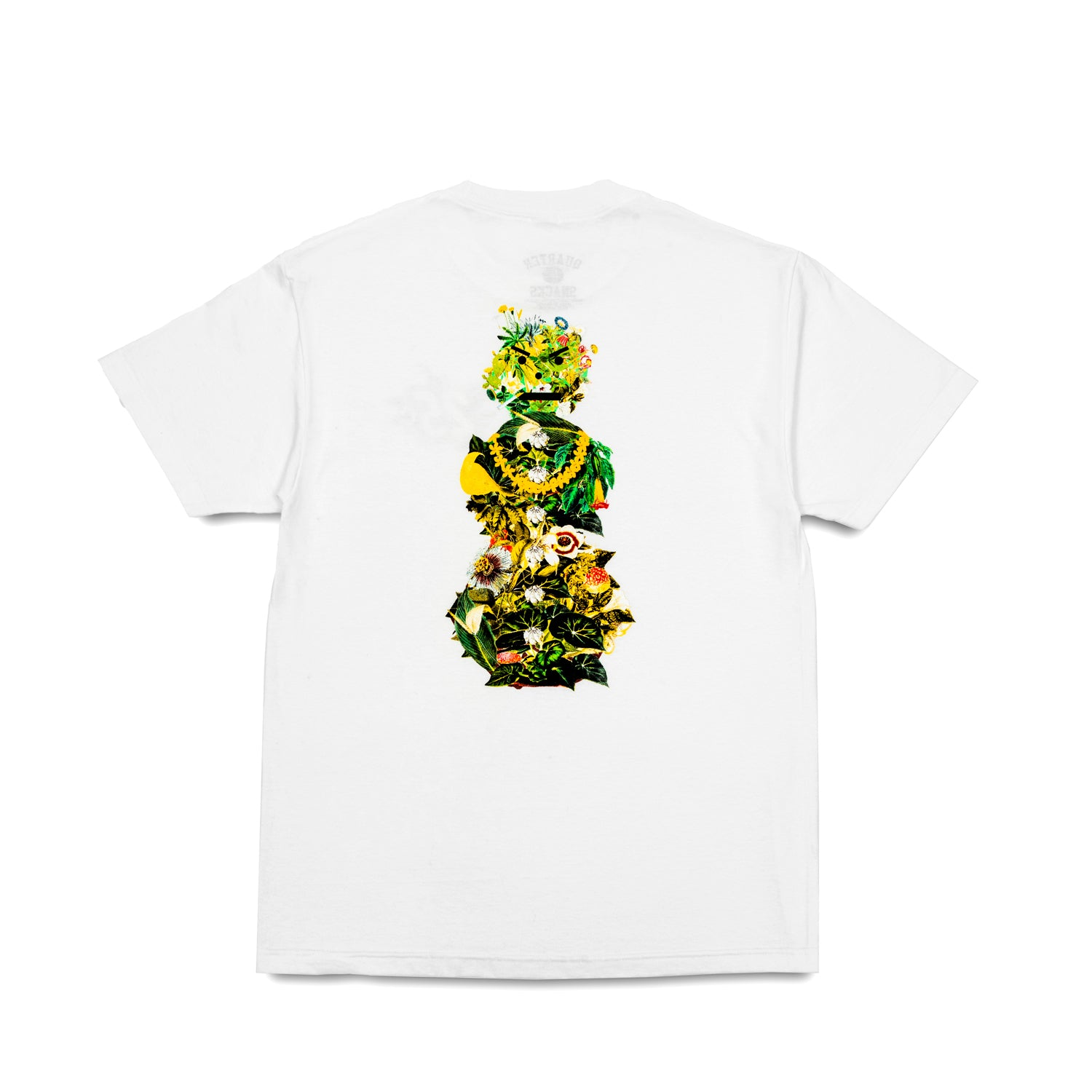 Quarter Snacks Botanical Snackman Tee White