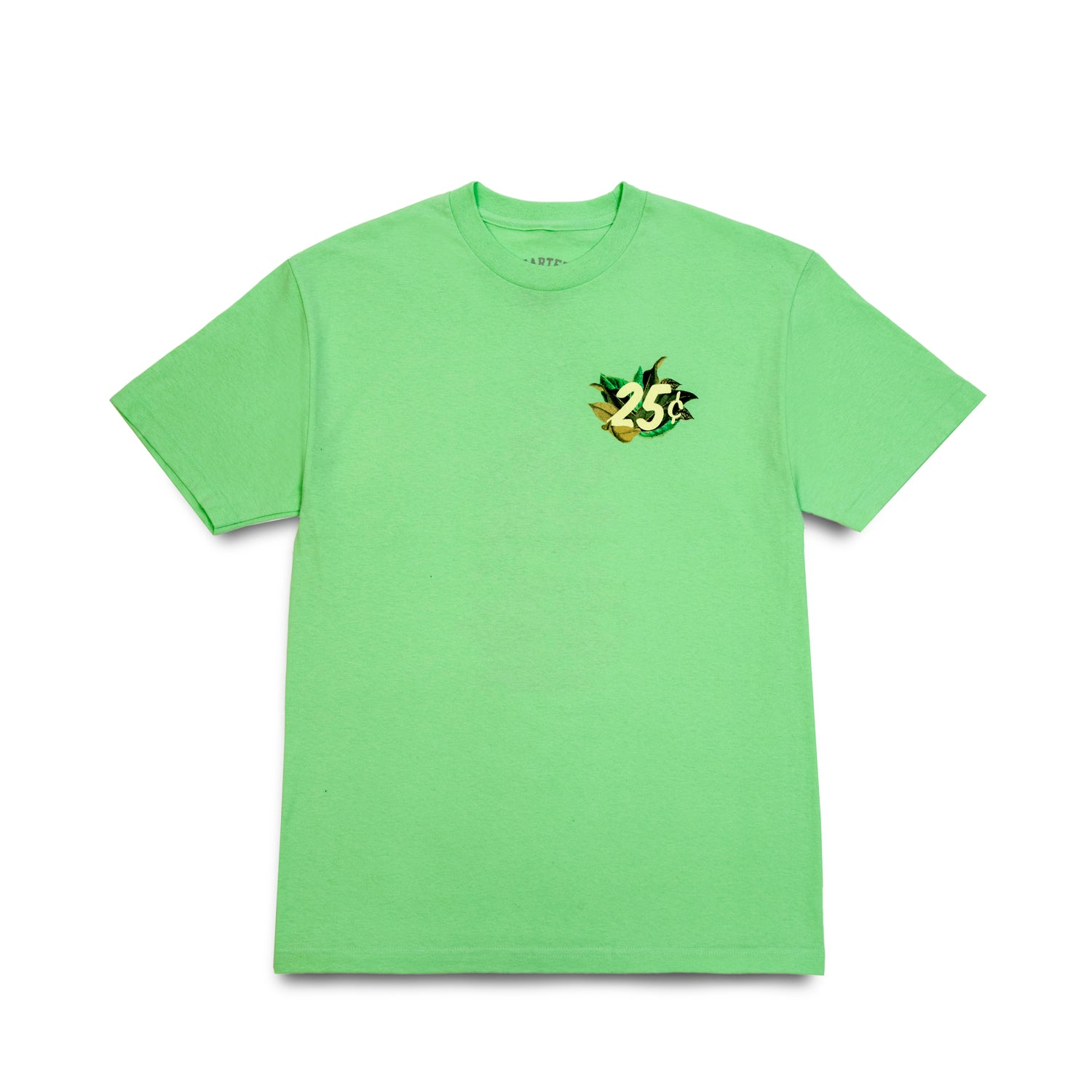 Quarter Snacks Botanical Snackman Tee Mint