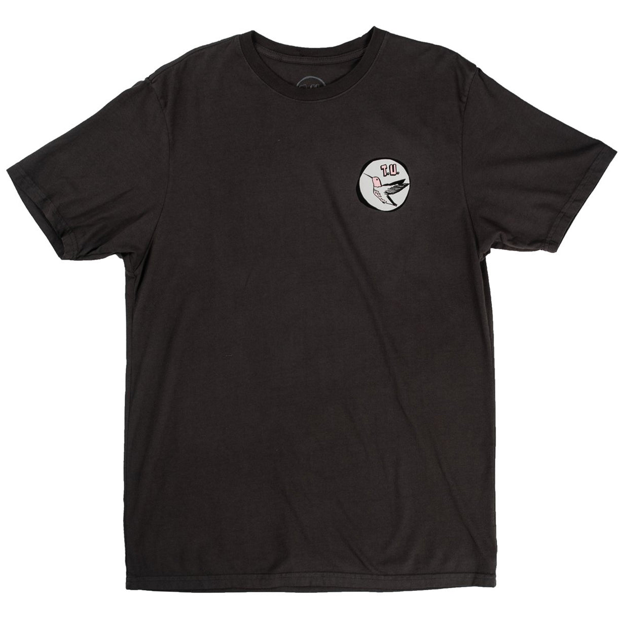 Transportation Unit Humming Bird Tee Charcoal