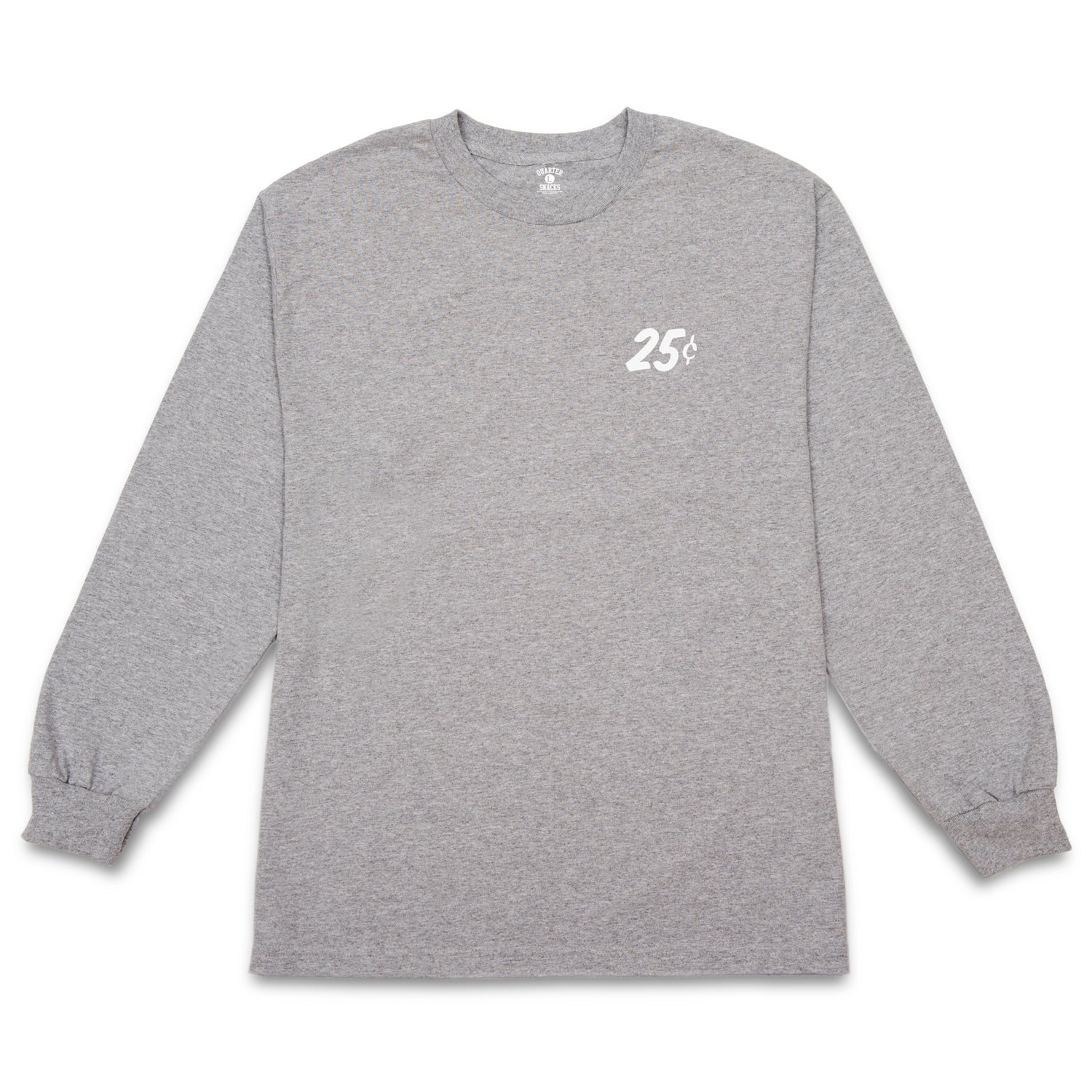 Quartersnacks Classic Snackman L/S Tee Heather