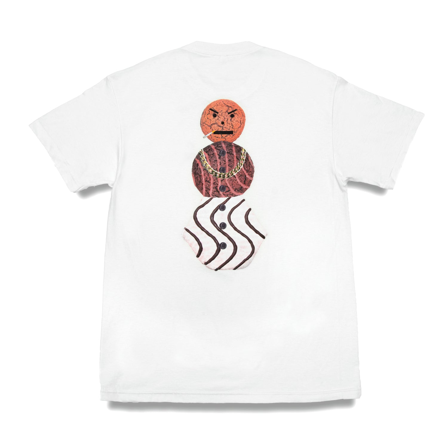 Quartersnacks Classic Snackman Tee White