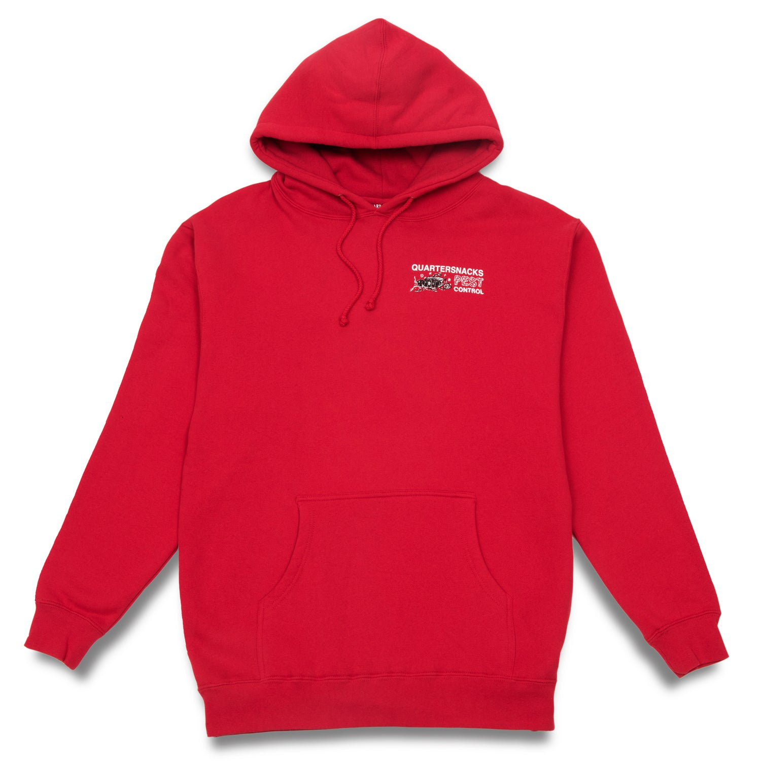 Quartersnacks Pest Control Hoody Red