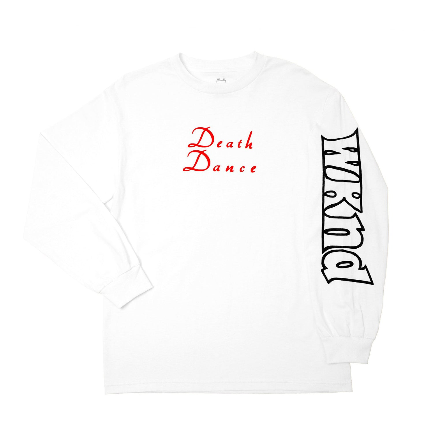 WKND LS Tee Death Dance White