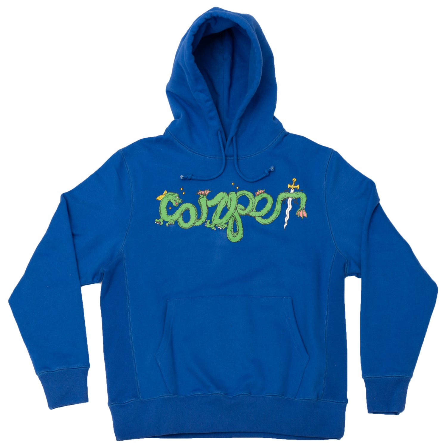 Carpet Company Dragon Hoodie Royal
