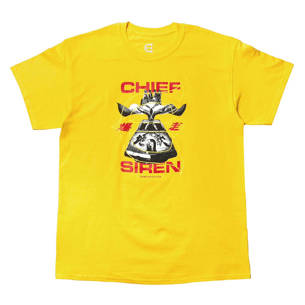 Evisen Tee Chief Siren Yellow