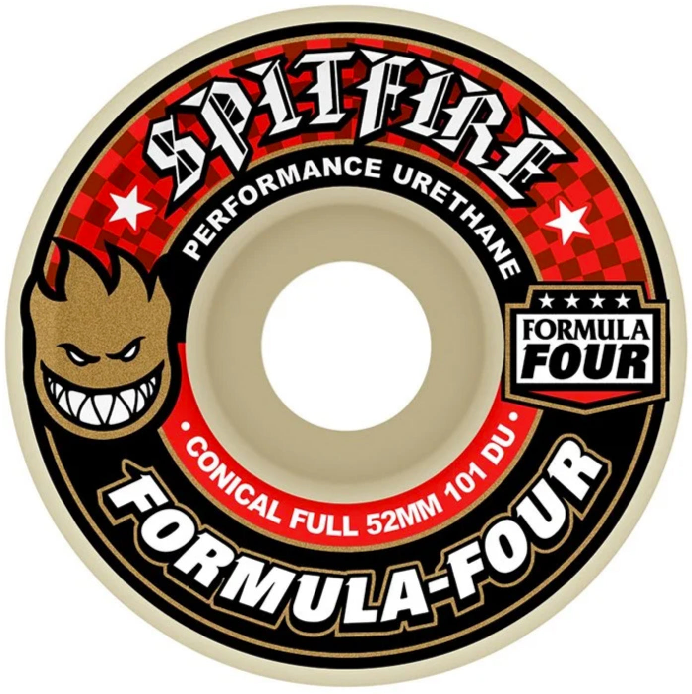 Spitfire Wheels Formula Four F4 Conical Full 101D 52mm