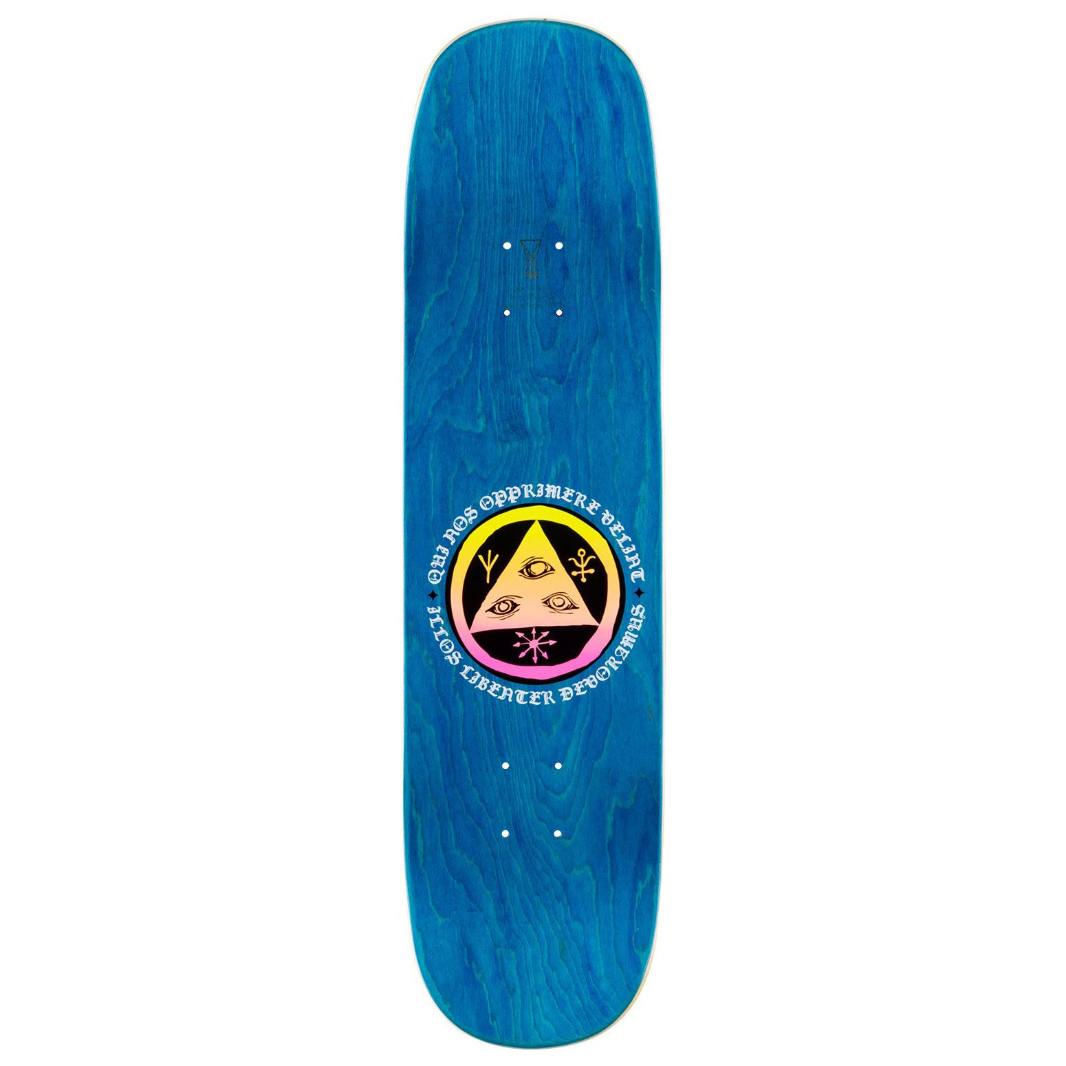 Welcome Seahorse 2 On Amulet White/Prism Deck 8.125""