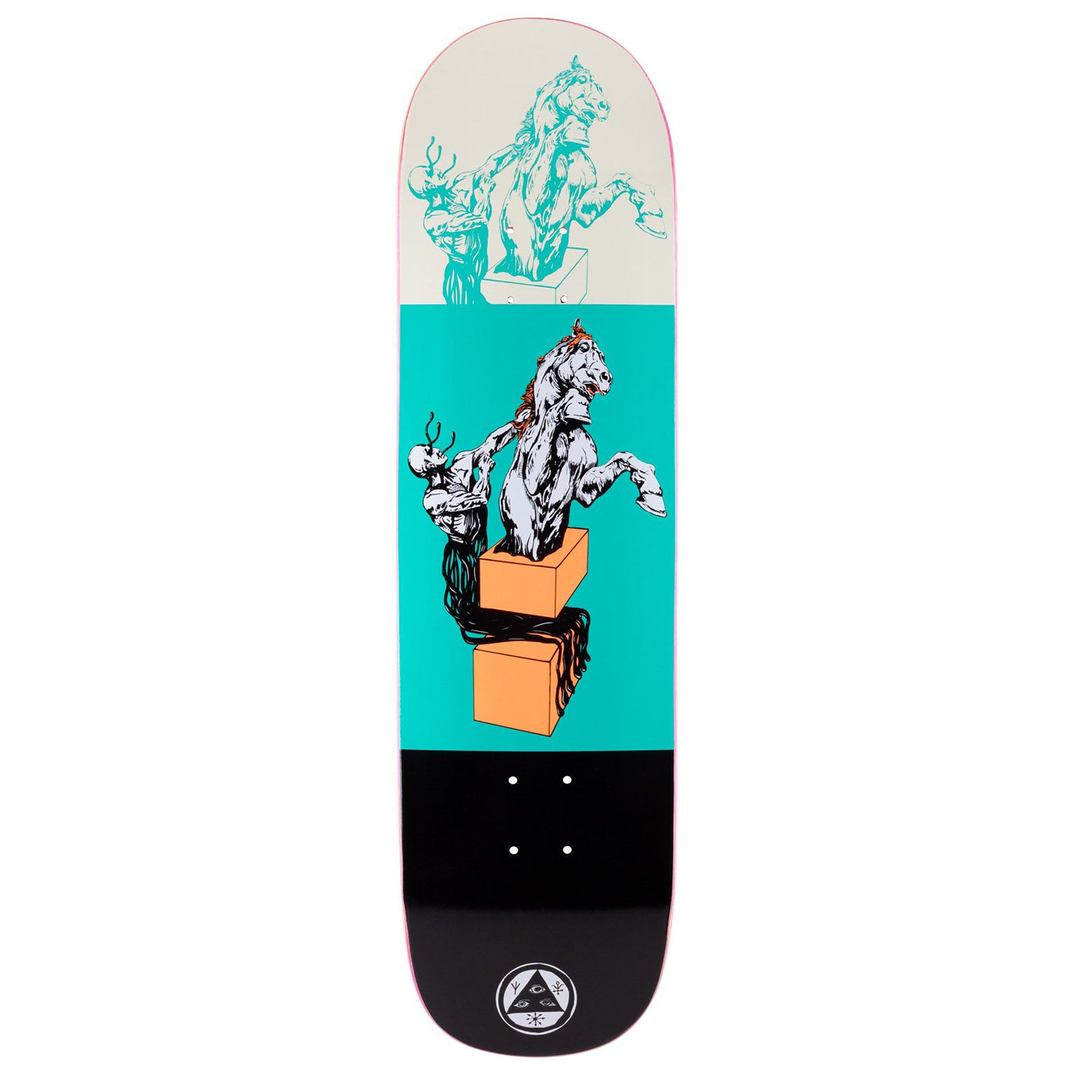 Welcome Hierophant On Big Bunyip Teal/Black Deck 8.5""
