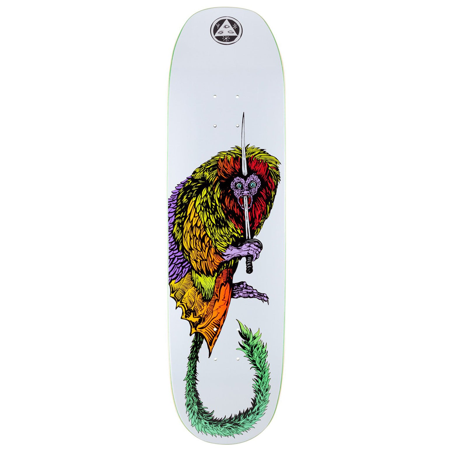 Welcome Tamarin On Moontrimmer 2.0 White Deck  8.5""