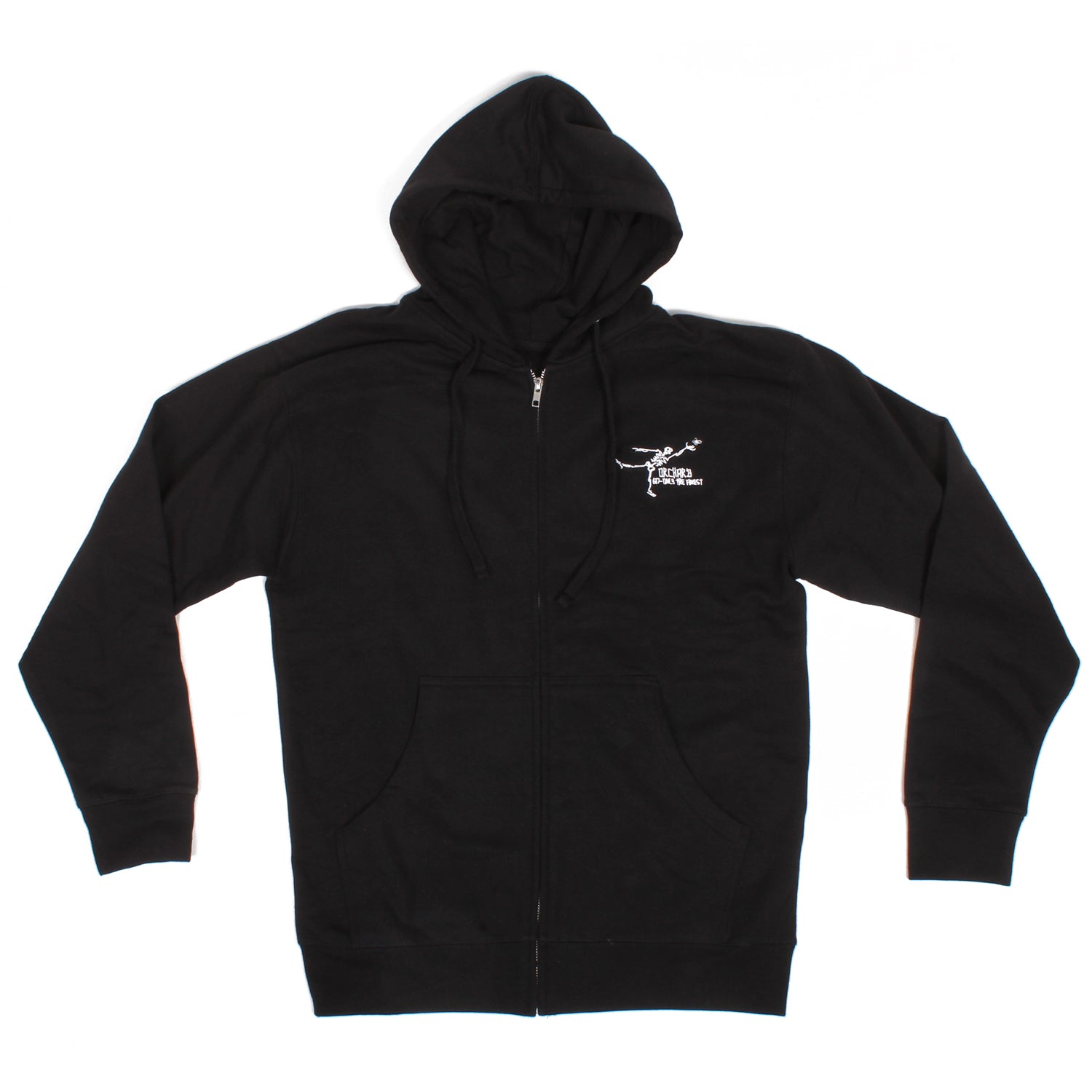 Orchard Gonz Only The Finest Zip Up Sweatshirt Black