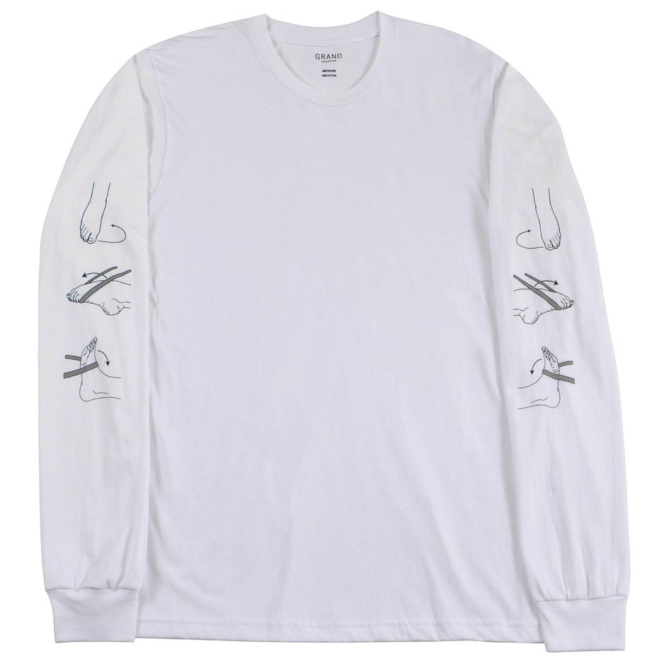 Grand Collection LS Tee Rehab White