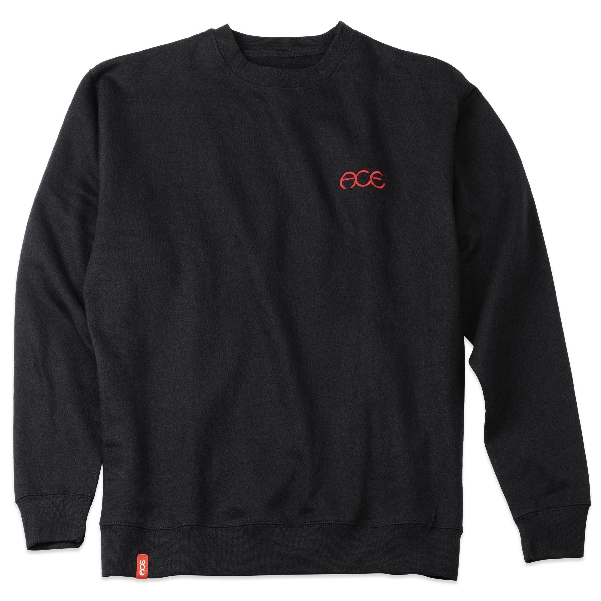 Ace Trucks Hutch Crewneck Sweatshirt Black