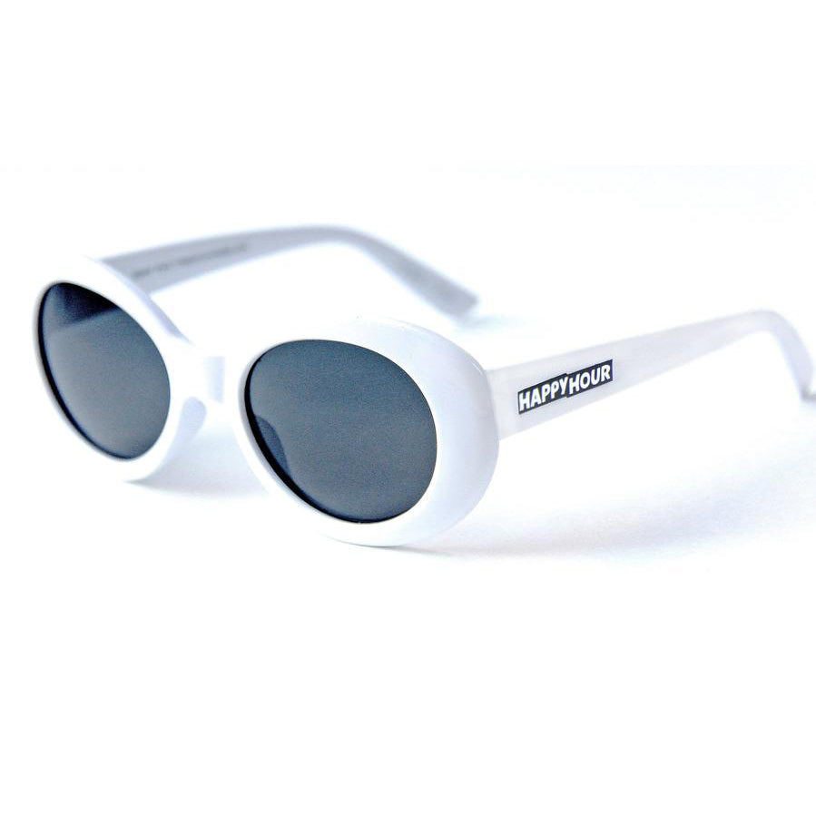 Happy Hour Team Beach Party Sunglasses White