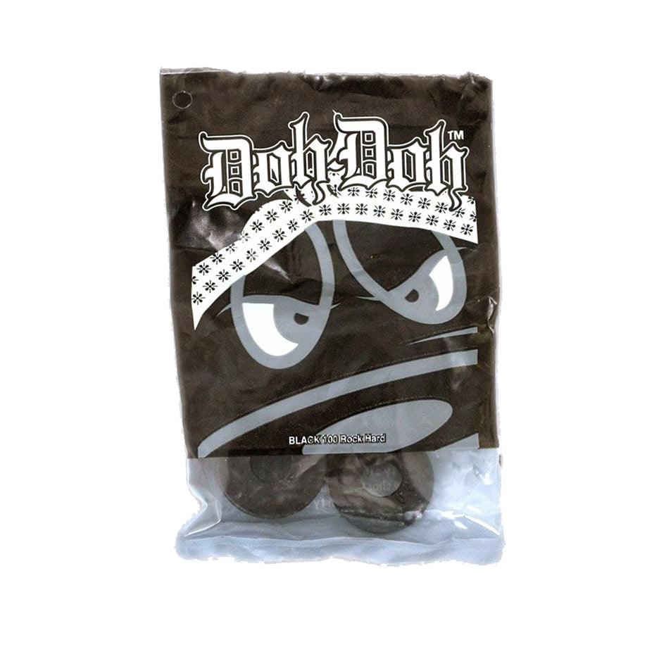 Shorty's Doh Doh Bushings Black (101a)