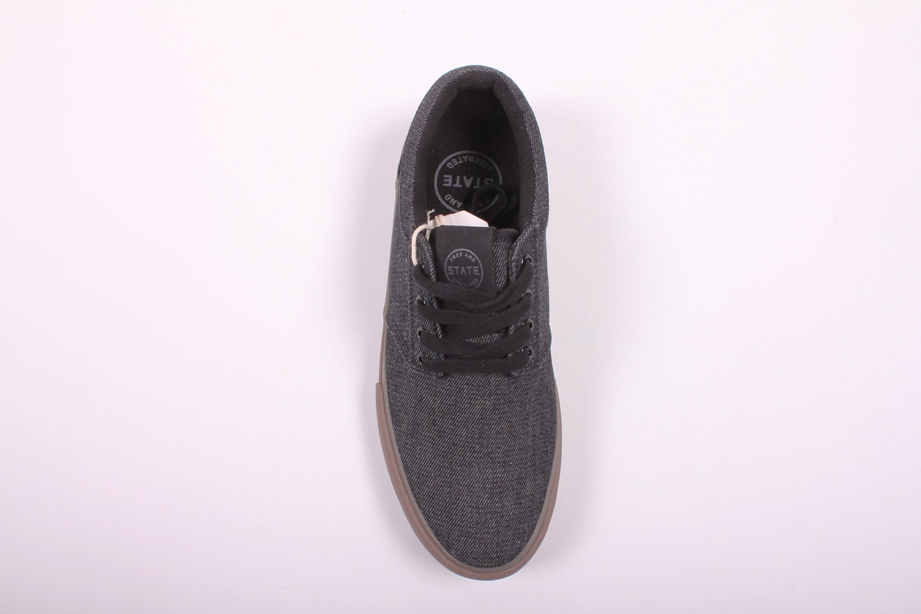 State Elgin Black/Gum Denim